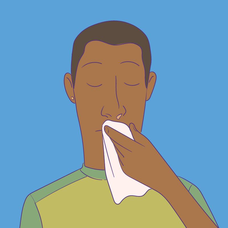 Transmissão - Fluídos nasais