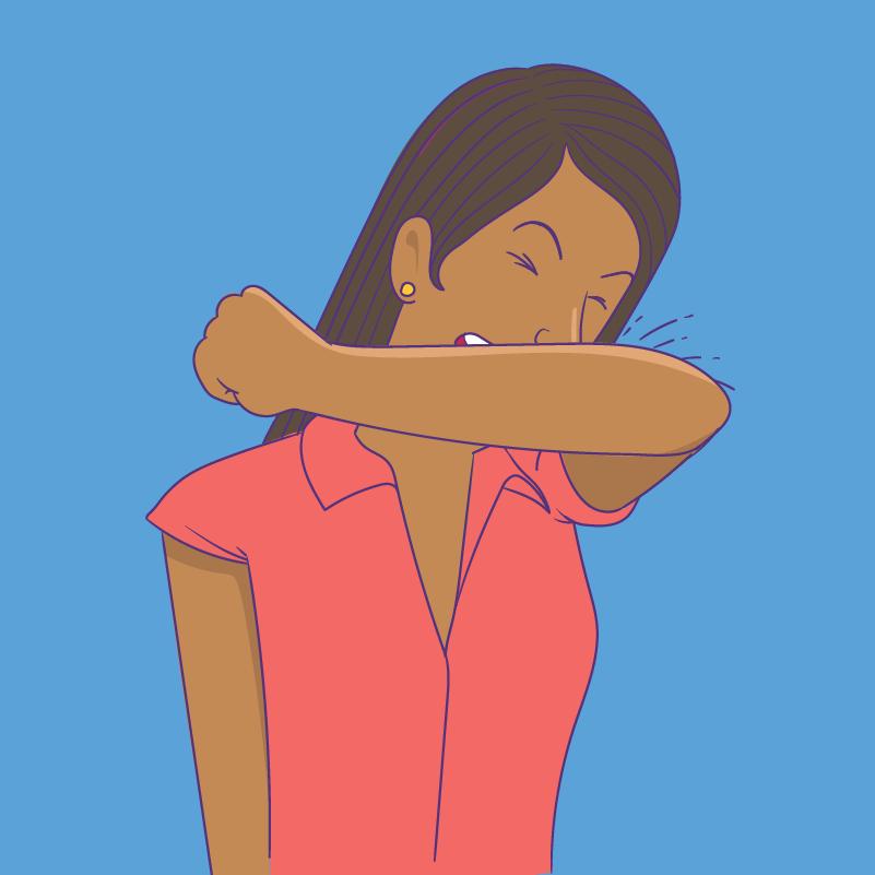 Transmissão - Espirro